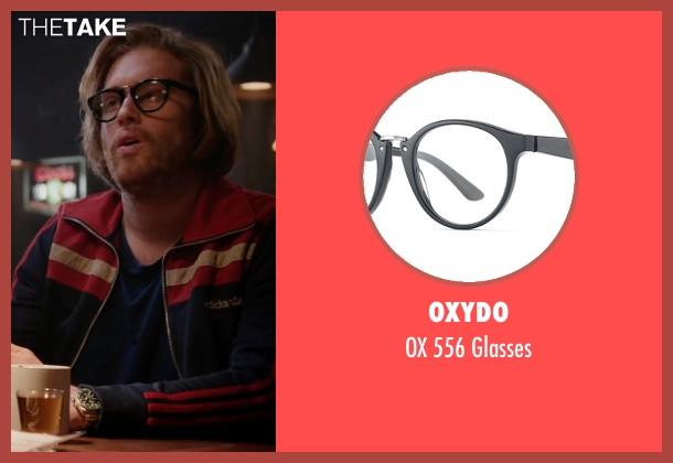 Oxydo black glasses from Deadpool seen with T.J. Miller (Weasel)