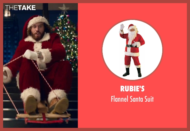 Rubie's suit from Office Christmas Party seen with T.J. Miller (Clay)