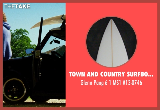 Town and Country Surfboards #13-0746 from Transformers: Age of Extinction seen with T.J. Miller (Lucas)