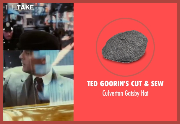 Ted Goorin's Cut & Sew black hat from The Great Gatsby seen with Tobey Maguire (Nick Carraway)