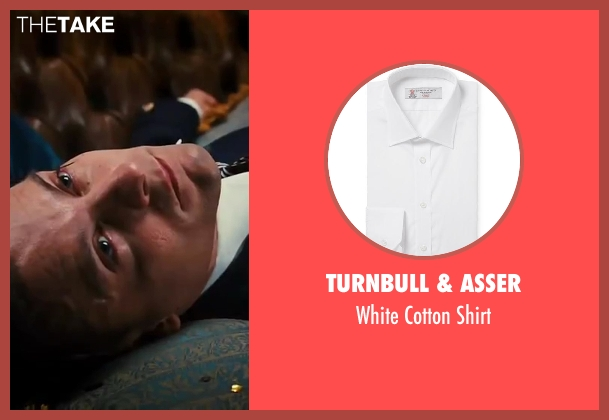 Turnbull & Asser white shirt from The Great Gatsby seen with Tobey Maguire (Nick Carraway)