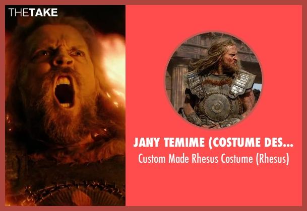 Jany Temime (Costume Designer) costume from Hercules seen with Tobias Santelmann (Rhesus)