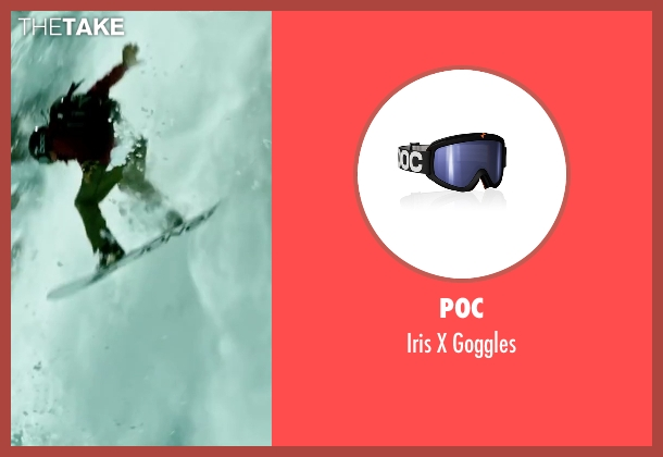 Poc goggles from Point Break seen with Tobias Santelmann (Chowder)