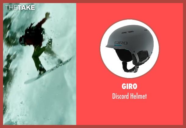 Giro helmet from Point Break seen with Tobias Santelmann (Chowder)
