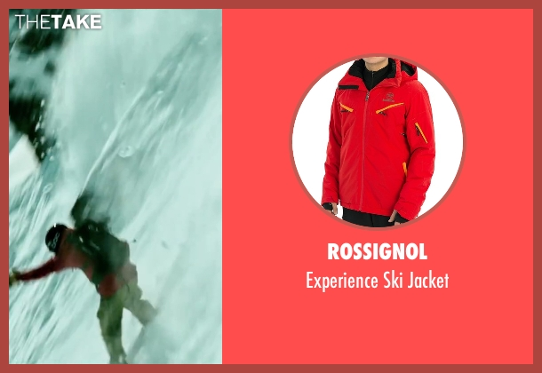 Rossignol red jacket from Point Break seen with Tobias Santelmann (Chowder)