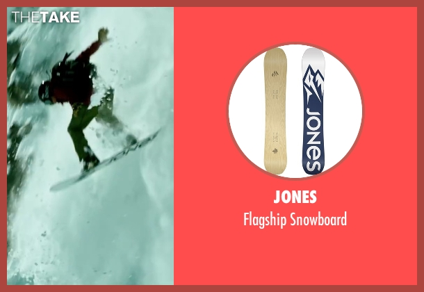Jones snowboard from Point Break seen with Tobias Santelmann (Chowder)