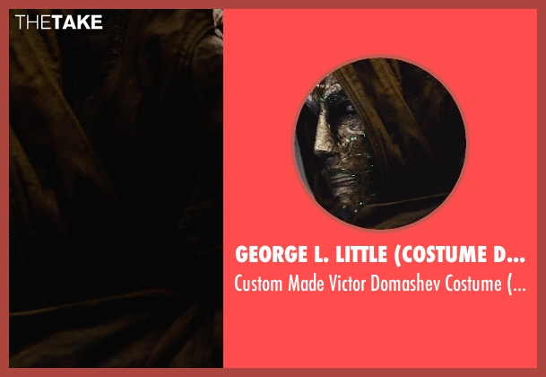 George L. Little (Costume Designer) costume from Fantastic Four seen with Toby Kebbell (Victor Domashev)