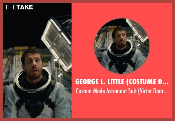 George L. Little (Costume Designer) suit from Fantastic Four seen with Toby Kebbell (Victor Domashev)
