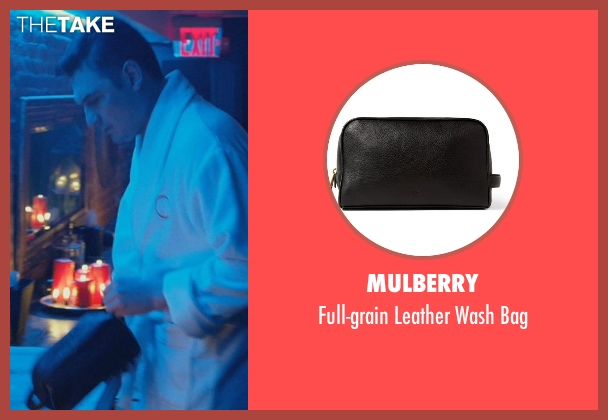 Mulberry black bag from John Wick seen with Toby Leonard Moore (Victor)