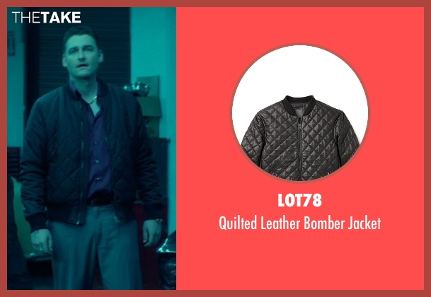Lot78 black jacket from John Wick seen with Toby Leonard Moore (Victor)