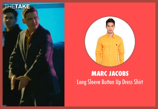 Marc Jacobs yellow shirt from John Wick seen with Toby Leonard Moore (Victor)