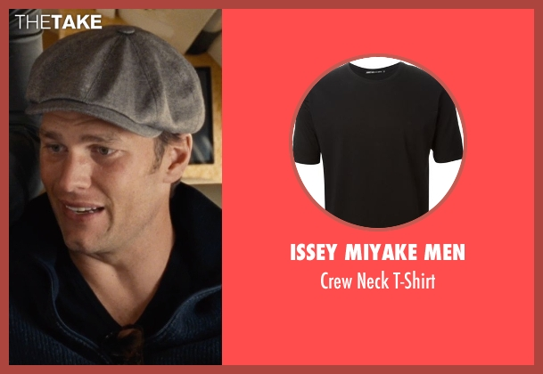 Issey Miyake Men black t-shirt from Entourage seen with Tom Brady (Unknown Character)