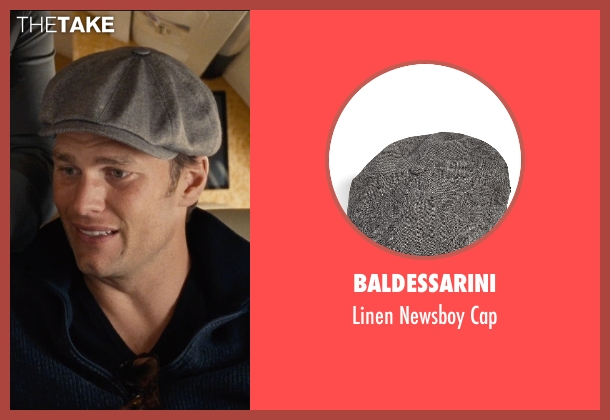 Baldessarini gray cap from Entourage seen with Tom Brady (Unknown Character)