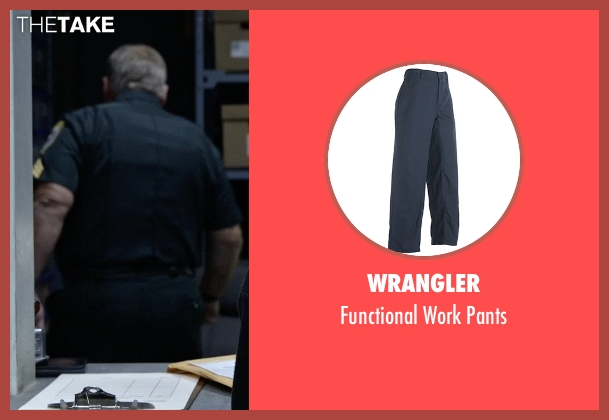 Wrangler blue pants from Tomorrowland seen with Tom Butler (Sheriff)
