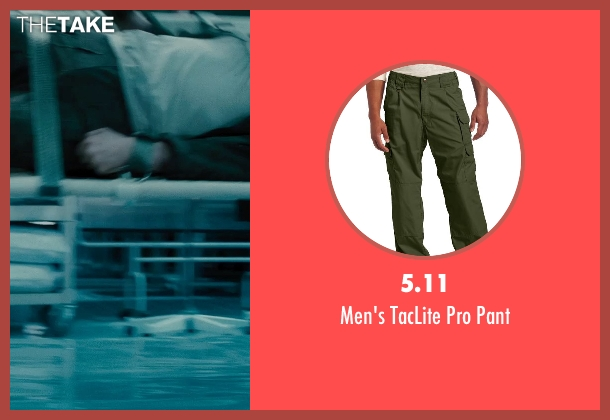5.11 green pant from Edge of Tomorrow seen with Tom Cruise (Lt. Col. Bill Cage)