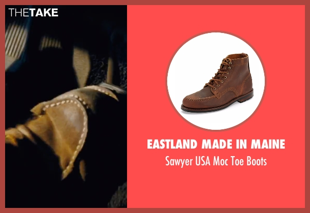Eastland Made in Maine brown boots from Jack Reacher seen with Tom Cruise (Jack Reacher)