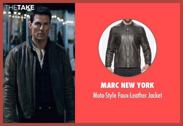 Marc New York brown jacket from Jack Reacher seen with Tom Cruise (Jack Reacher)