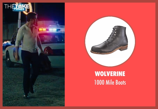 Wolverine black boots from Jack Reacher: Never Go Back seen with Tom Cruise (Jack Reacher)