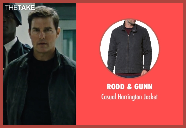 Rodd & Gunn black jacket from Jack Reacher: Never Go Back seen with Tom Cruise (Jack Reacher)