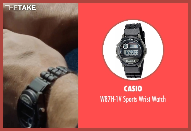 Casio black watch from Jack Reacher: Never Go Back seen with Tom Cruise (Jack Reacher)