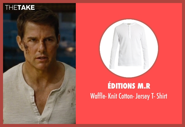 Cotton Citizen white shirt from Jack Reacher: Never Go Back seen with Tom Cruise (Jack Reacher)