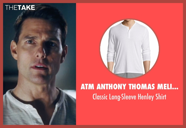 ATM Anthony Thomas Melillo white shirt from Jack Reacher seen with Tom Cruise (Jack Reacher)