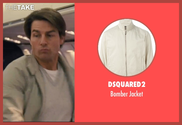 Dsquared2 beige jacket from Knight and Day seen with Tom Cruise (Roy Miller)