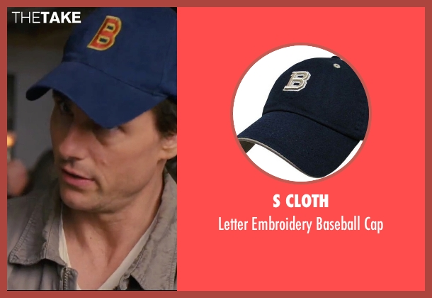 S Cloth blue cap from Knight and Day seen with Tom Cruise (Roy Miller)