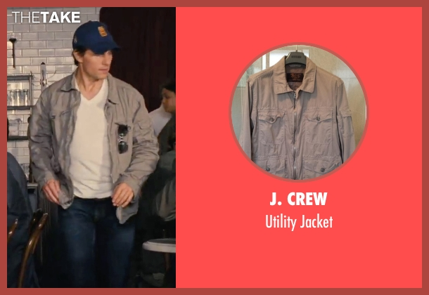 J. Crew gray jacket from Knight and Day seen with Tom Cruise (Roy Miller)