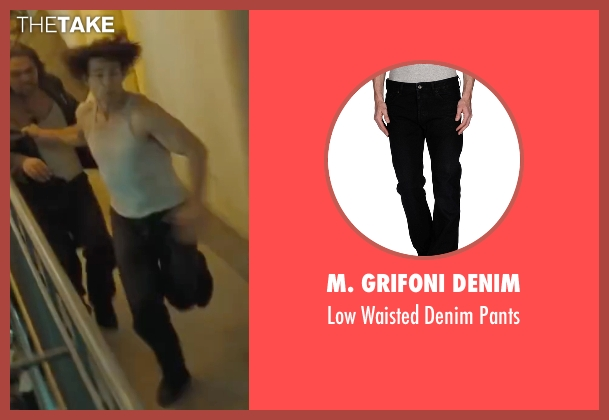 M. Grifoni Denim black pants from Mission: Impossible - Ghost Protocol seen with Tom Cruise (Ethan Hunt)
