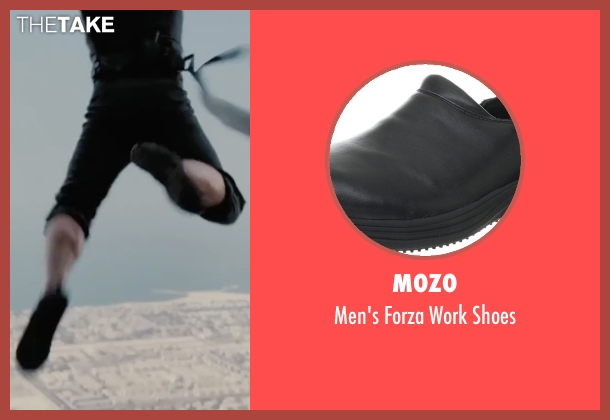 Mozo black shoes from Mission: Impossible - Ghost Protocol seen with Tom Cruise (Ethan Hunt)