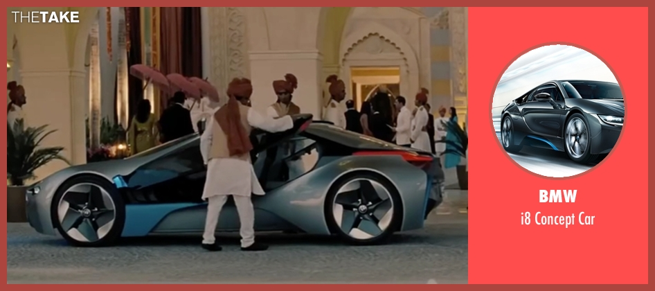 BMW car from Mission: Impossible - Ghost Protocol seen with Tom Cruise (Ethan Hunt)