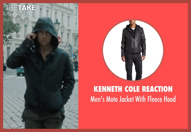 Kenneth Cole Reaction gray hood from Mission: Impossible - Ghost Protocol seen with Tom Cruise (Ethan Hunt)