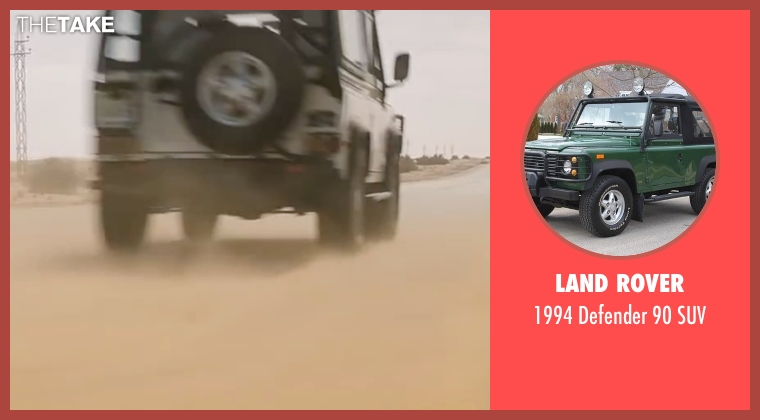 Land Rover suv from Mission: Impossible - Ghost Protocol seen with Tom Cruise (Ethan Hunt)