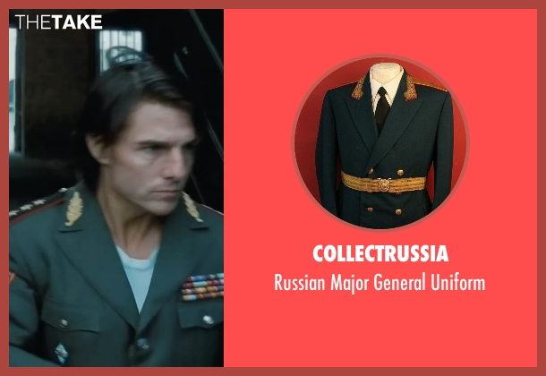 CollectRussia uniform from Mission: Impossible - Ghost Protocol seen with Tom Cruise (Ethan Hunt)