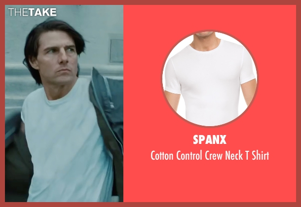 Spanx white shirt from Mission: Impossible - Ghost Protocol seen with Tom Cruise (Ethan Hunt)