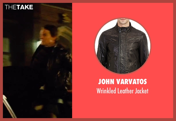 John Varvatos black jacket from Mission: Impossible - Rogue Nation seen with Tom Cruise (Ethan Hunt)