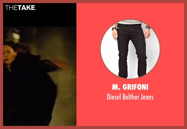 M. Grifoni black jeans from Mission: Impossible - Rogue Nation seen with Tom Cruise (Ethan Hunt)