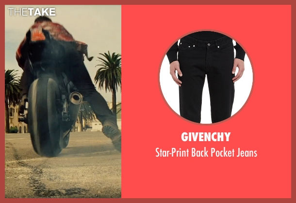 Givenchy black jeans from Mission: Impossible - Rogue Nation seen with Tom Cruise (Ethan Hunt)