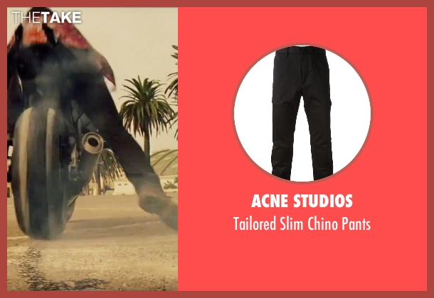 Acne Studios black pants from Mission: Impossible - Rogue Nation seen with Tom Cruise (Ethan Hunt)