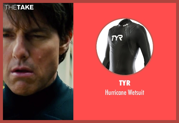 TYR black wetsuit from Mission: Impossible - Rogue Nation seen with Tom Cruise (Ethan Hunt)