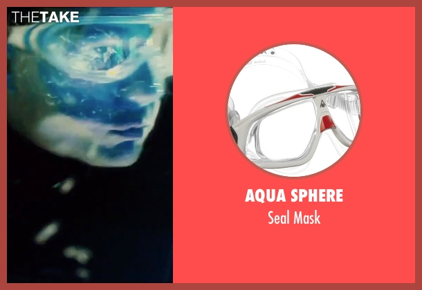Aqua Sphere mask from Mission: Impossible - Rogue Nation seen with Tom Cruise (Ethan Hunt)