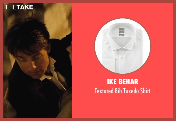 Ike Behar white shirt from Mission: Impossible - Rogue Nation seen with Tom Cruise (Ethan Hunt)