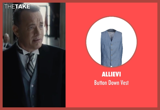 Allievi blue vest from Bridge of Spies seen with Tom Hanks (James Donovan)