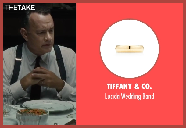 Tiffany & Co. gold band from Bridge of Spies seen with Tom Hanks (James Donovan)
