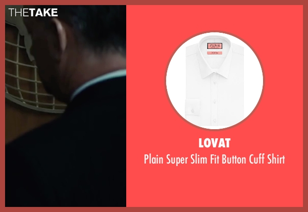 Lovat white shirt from Bridge of Spies seen with Tom Hanks (James Donovan)