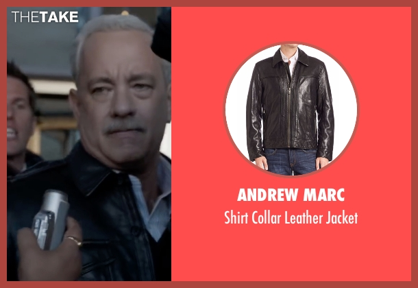Tom Ford black jacket from Sully seen with Tom Hanks (Chesley 'Sully' Sullenberger)