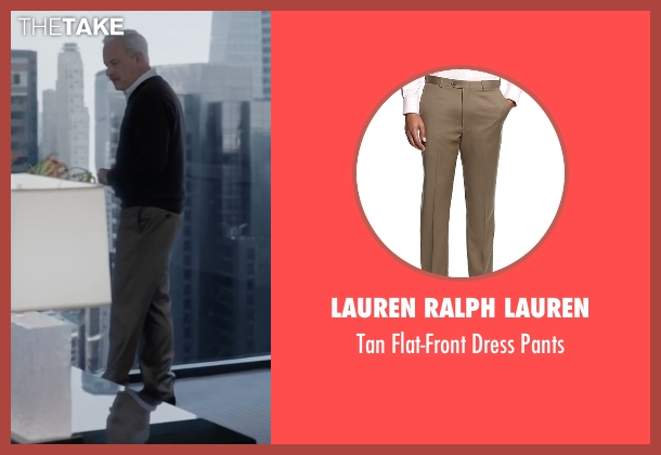 Lauren Ralph Lauren brown pants from Sully seen with Tom Hanks (Chesley 'Sully' Sullenberger)