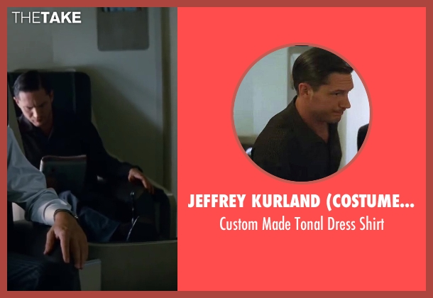 Jeffrey Kurland (Costume Designer) black shirt from Inception seen with Tom Hardy (Eames)