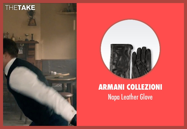Armani Collezioni black glove from Legend seen with Tom Hardy (Ronald Kray)